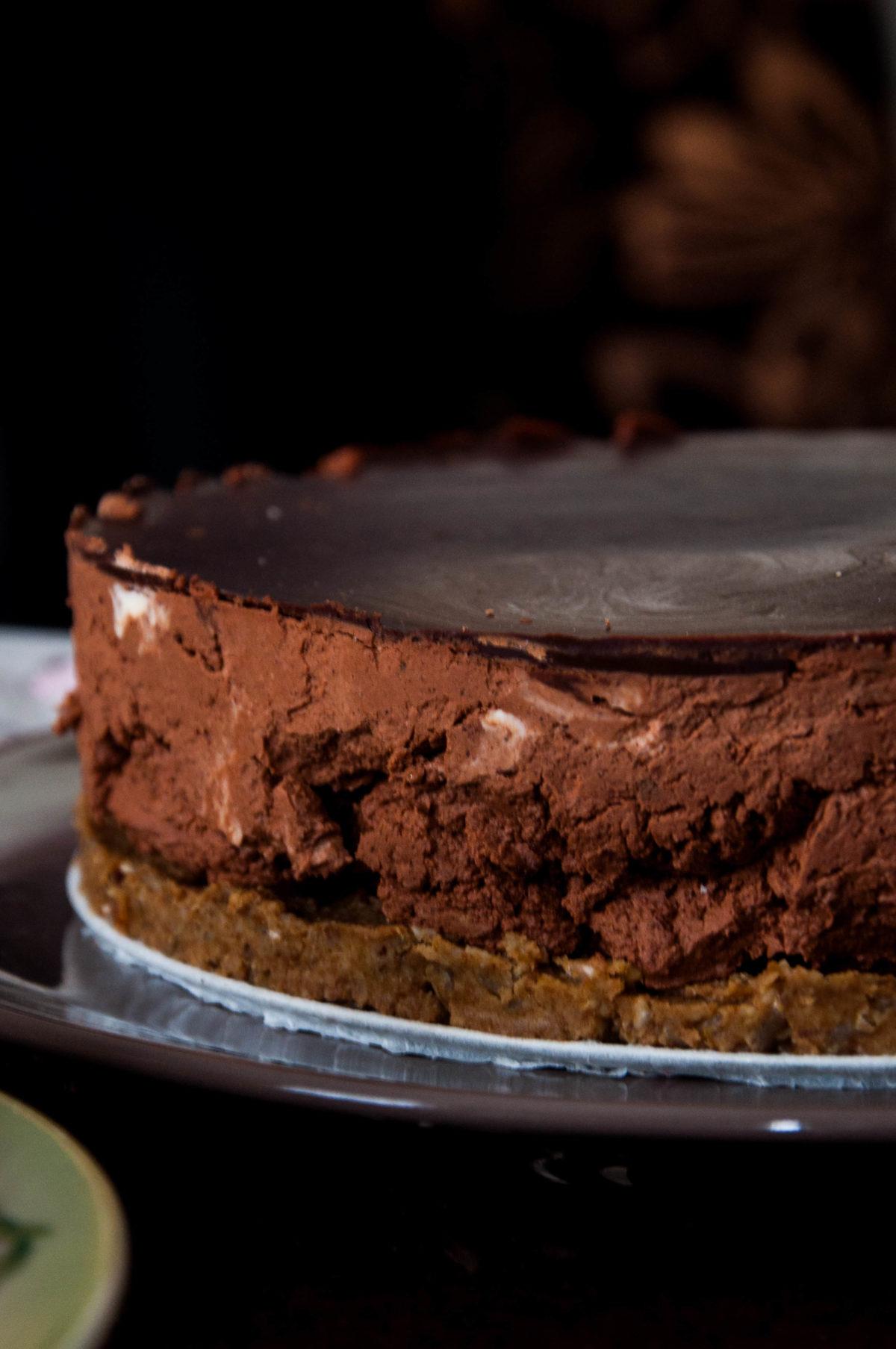 Zdrowy deser: bardzo czekoladowy sernik